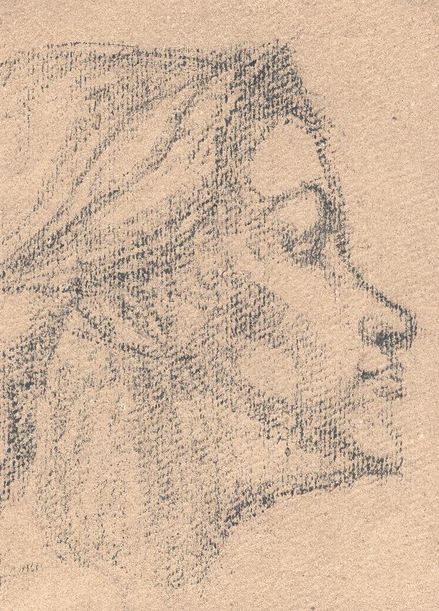 Boceto-cabeza mujer