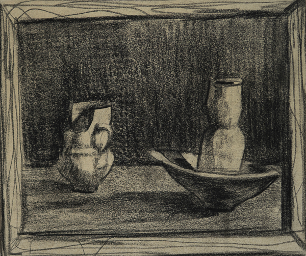 Hornacina con jarras